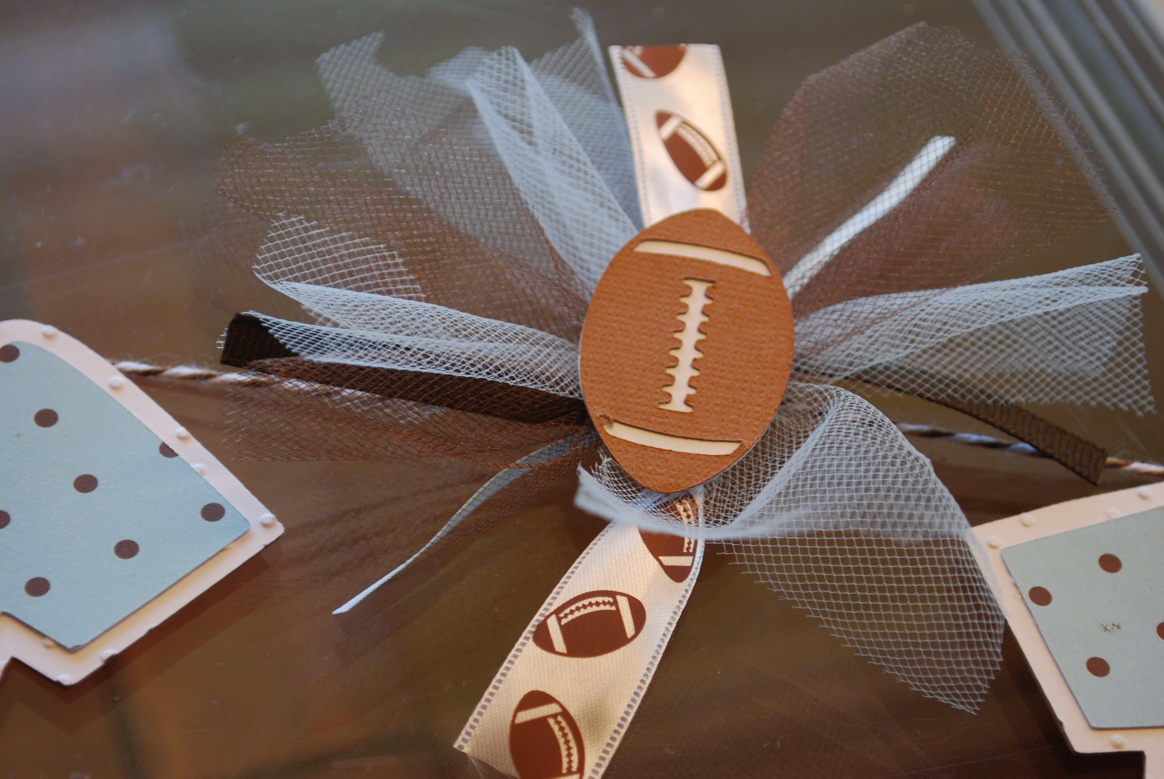 Football Themed Baby Showers Ideas A Piece Of Lifes Pie