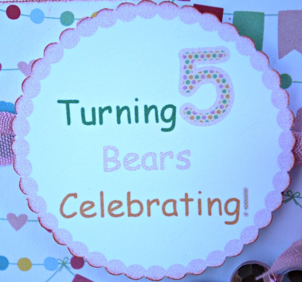 """A Birthday that """"Bears"""" Celebrating! 
