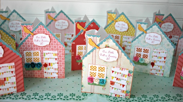 Old Friendships, Very Loved Projects and Doll House Party Invites!