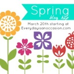 Spring Blog Hop Button