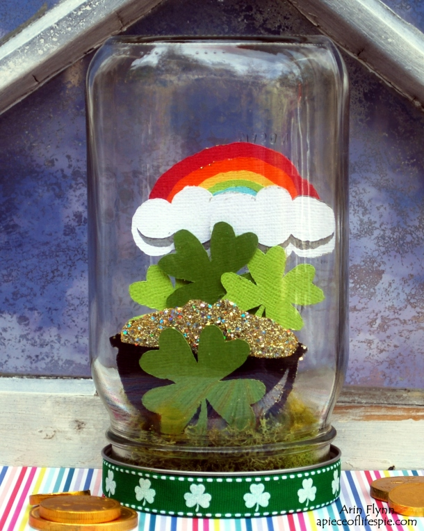 St. Patty Day Mason Jar Decor
