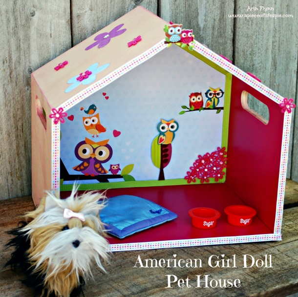 American Girl Doll Pet House