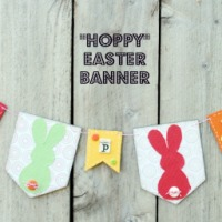 Gettin' Hoppy with an Easy Easter Banner