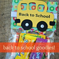 It's Back To School with Goodies!